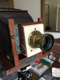 Shutter mounted on lens board